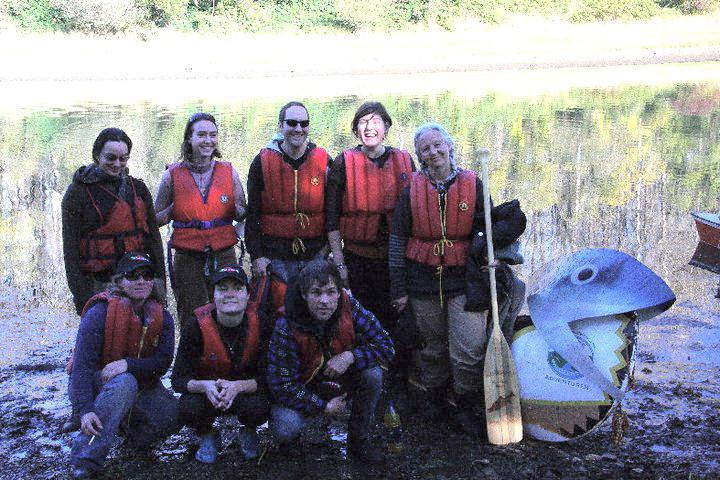 My canoe team