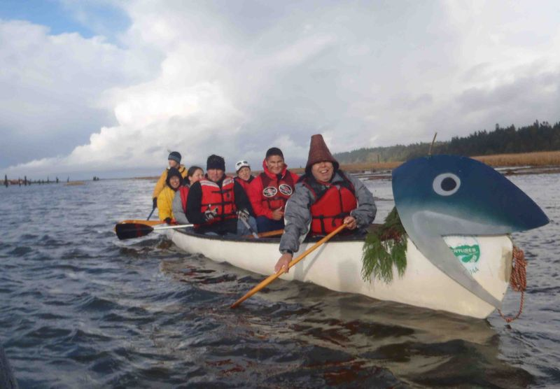 Puling out of Musqueam