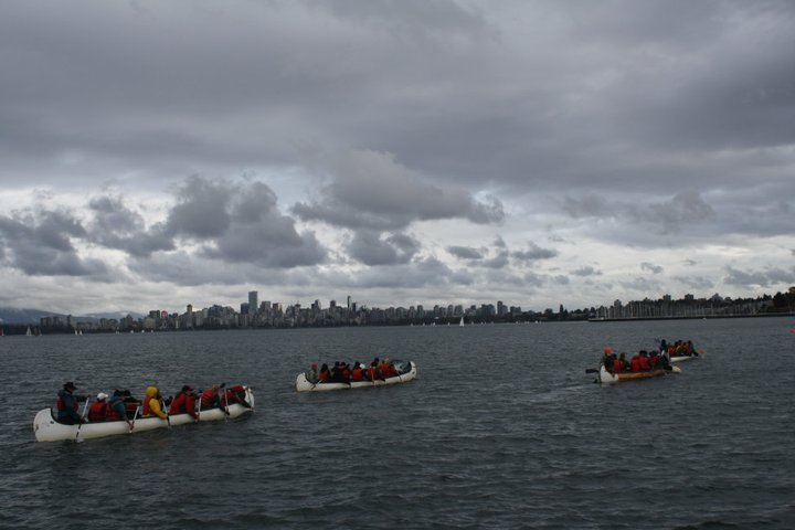 Canoes and vancouver