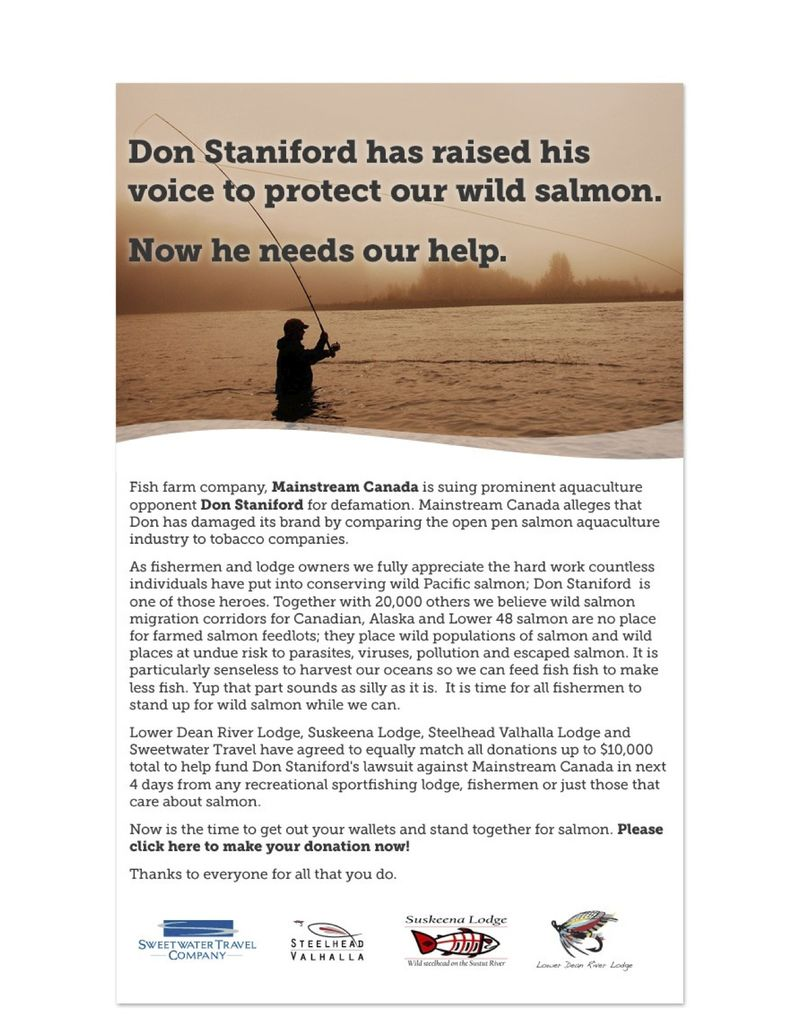 Staniford fundraiser copy