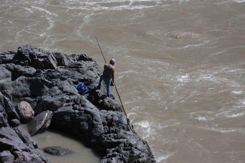 Dip fishery Bridge River