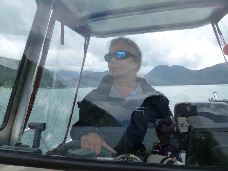 Morton driving Nootka