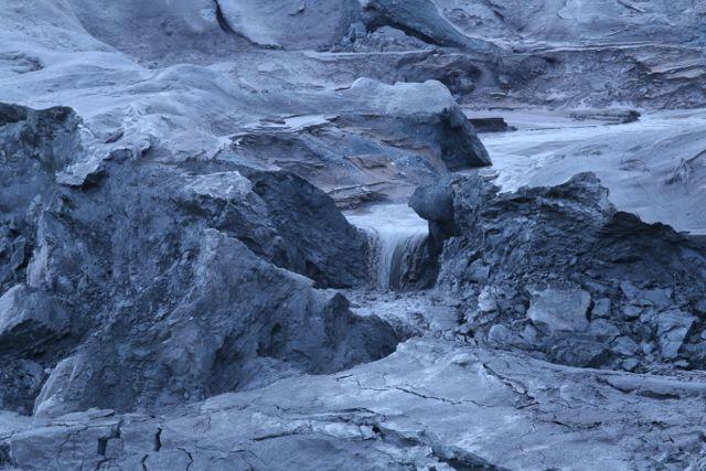 Hazeltine sludge flow