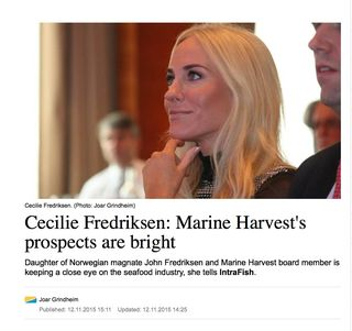Marine Harvest prospects bright